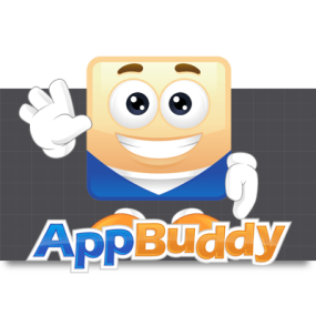 Cartoon Logo Design for AppBuddy by MLJarmin Illustrations
