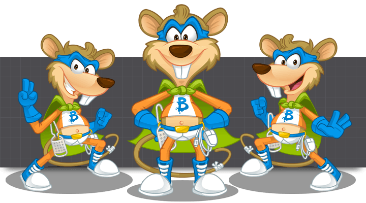 Mascot Design for BidCheddar by MLJarmin Illustrations
