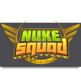 Cartoon Logo Design for NukeSquad by MLJarmin Illustrations