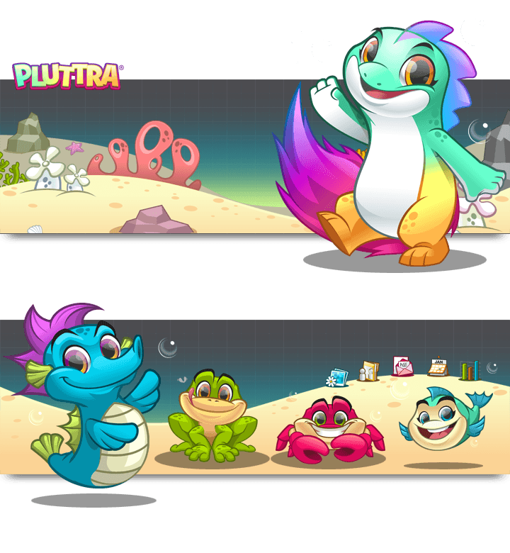Mascot Design and Website Illustrations for Pluttra by MLJarmin Illustrations