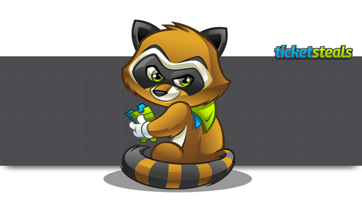 Raccoon MascotMascot Design for TicketSteals by MLJarmin Illustrations