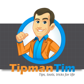 Cartoon Logo Design for TipmanTim by MLJarmin Illustrations