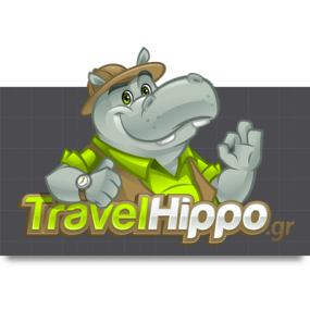Cartoon Logo Design for TravelHippo by MLJarmin Illustrations