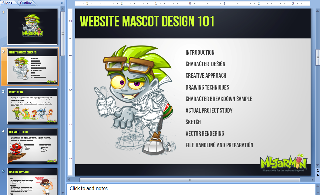 Website Mascot Design 101