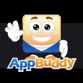 Cartoon Logo Design for AppBuddy by MLJarmin Illustrations