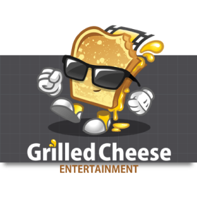 Cartoon Logo Design for GrilledCheeseStudios by MLJarmin Illustrations