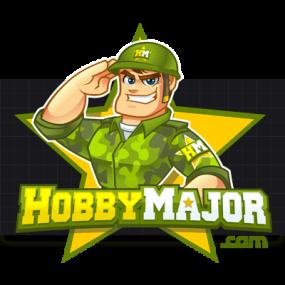 Cartoon Logo Design for HobbyMajor by MLJarmin Illustrations
