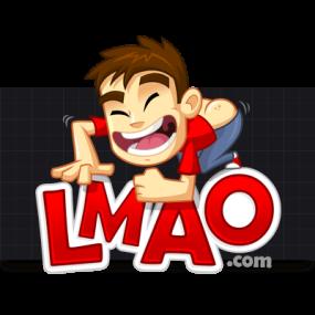 Cartoon Logo Design for LMAO.com by MLJarmin Illustrations