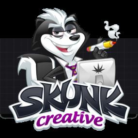 Cartoon Logo Design for SkunkCreative by MLJarmin Illustrations