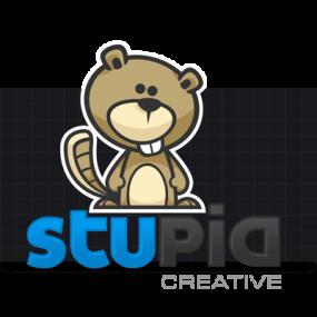 Cartoon Logo Design for StupidCreative by MLJarmin Illustrations