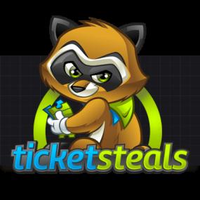 Cartoon Logo Design for TicketSteals by MLJarmin Illustrations